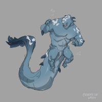 Beneath the Waves creature design by Jordy-Knoop