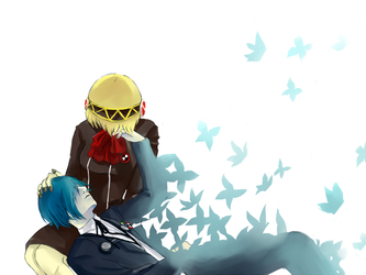 P3: Butterflies by numina-namine