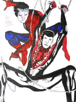 SPIDER-MEN #1 Cover Re-creation 2.0 by GP-MANALO