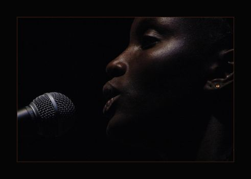 African singer 3 by pinkland