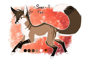 .: Character Oc Update - Snex / Feral Fox - 2017 by SnexMy