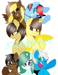 Friends (Gift) by StarShy9999