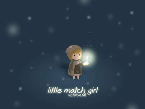 Little Match Girl by mclelun