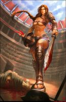 Gladiator Chick by Shinsen