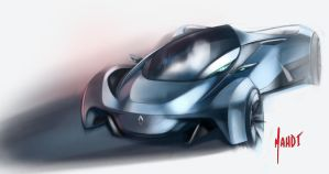 Renault Supercar Concept by sk8nrail