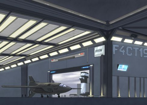 Hangar concept - colored by Kanethy