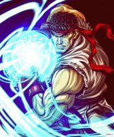 Ryu - Street Fighter by EddieHolly