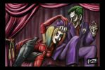 Harley and Mr J by radioactiveroach