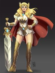She-ra Concept redesign by Fpeniche