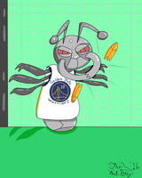 Kevin the Durant by TheAntTony
