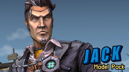 Handsome Jack | model pack for Source Filmmaker by Cyristal-Artist