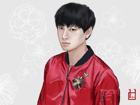 Kang Dong Won fan art by minhhiu