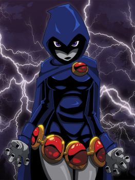 Raven is a Badass by Glee-chan