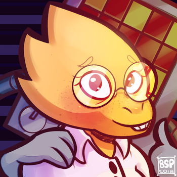 Dr. Alphys by Blustarpilot