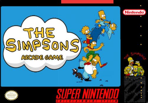 The Simpsons - Arcade Port by Maniac1075