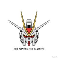 Strike Freedom Head Color by hafidhsyifa
