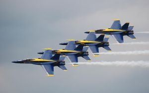 Blue Angels II by Swatmax
