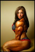 Female muscle 17 by BigDane