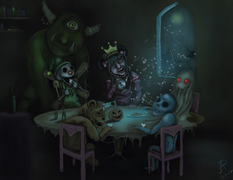 Tea party by Twistedpr3lude