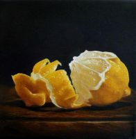 Peeled Lemon by Lillemut