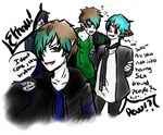 Party Family crazy xD by Dream-Yaoi