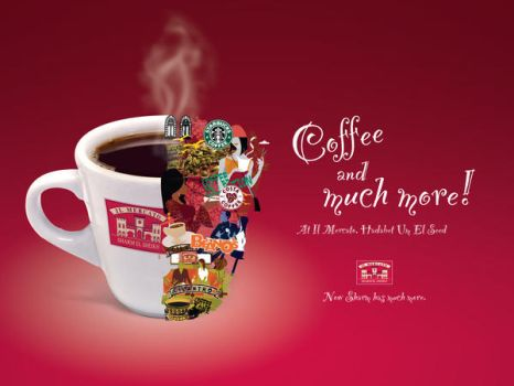 coffee AD by SNOBS