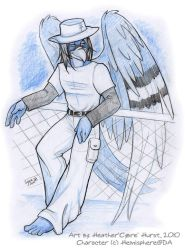 SketchCommission: Hemisphere 2 by cybre