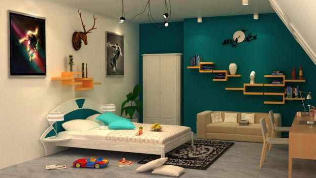 My First Interior by Abizar Sabuwala by ABIFRIEND