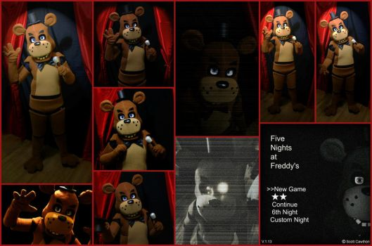 Five Nights at Freddy's Cosplay Preview by AmmieChan