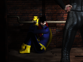Batgirl Kidnapped by fightgirl2004