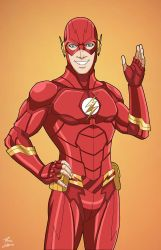 The Flash - variant (Earth-27) commission by phil-cho