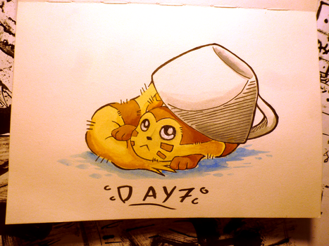 Inktober Day 7: Shy by Steve-the-Lucario