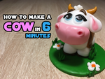 How to make a cow in 6 minutes by Nydrli