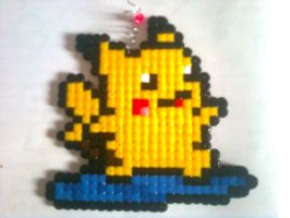 PIKACHU - HAMA BEADS by RavenLSD