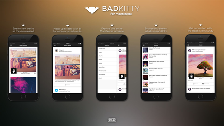 BadKitty for Monstercat - App Store Showcase by R3mix97
