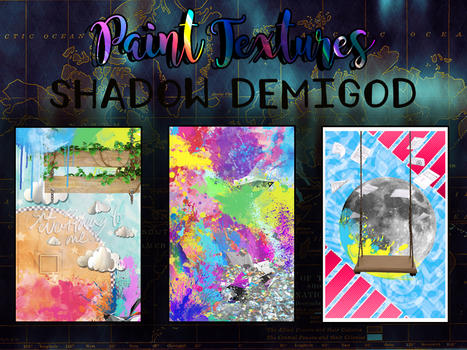 Paint Textures by ShadowDemigod