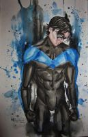 Nightwing by NicoleHansche