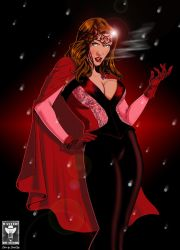 scarlet witch by maskedpenciller by singory