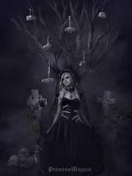 The Girl Who Stood On A Grave by PrincessMagical