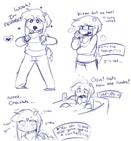 Asriel get out of Chara's body by Channydraws