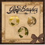 GIMP Brushes | Globe Brushes ... Two been added by TheAngeldove