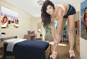 Minigiantess Arianny Celeste room by lowerrider