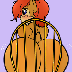 Thicc Sally Booty In A Chair by chaoticphantom1
