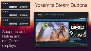Yosemite Steam Skin by FezVrasta