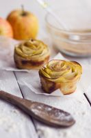 Apple Rosettes by BronKatzke