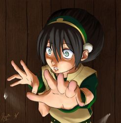 Collab: Toph in a box by Miru