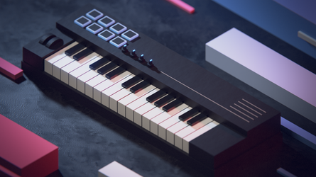 Low poly Keyboard by Djebrayass
