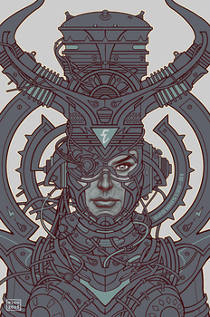 Electric Queen :: Line Art by ElectroNic0