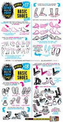 How to draw FEET, SHOES and BOOTS tutorial by STUDIOBLINKTWICE
