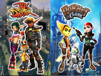 Jak and Daxter and Ratchet and Clank Wallpaper by 9029561